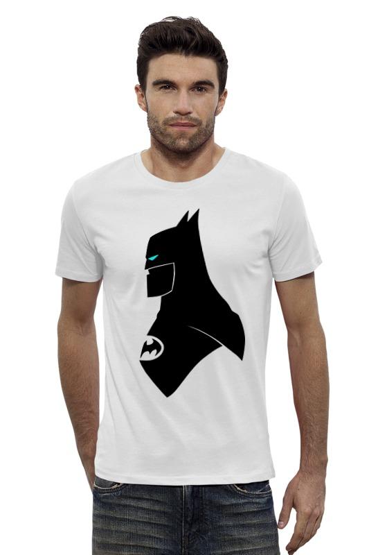 Футболка Wearcraft Premium Slim Fit Printio Batman minimalism футболка wearcraft premium slim fit printio batman beyond