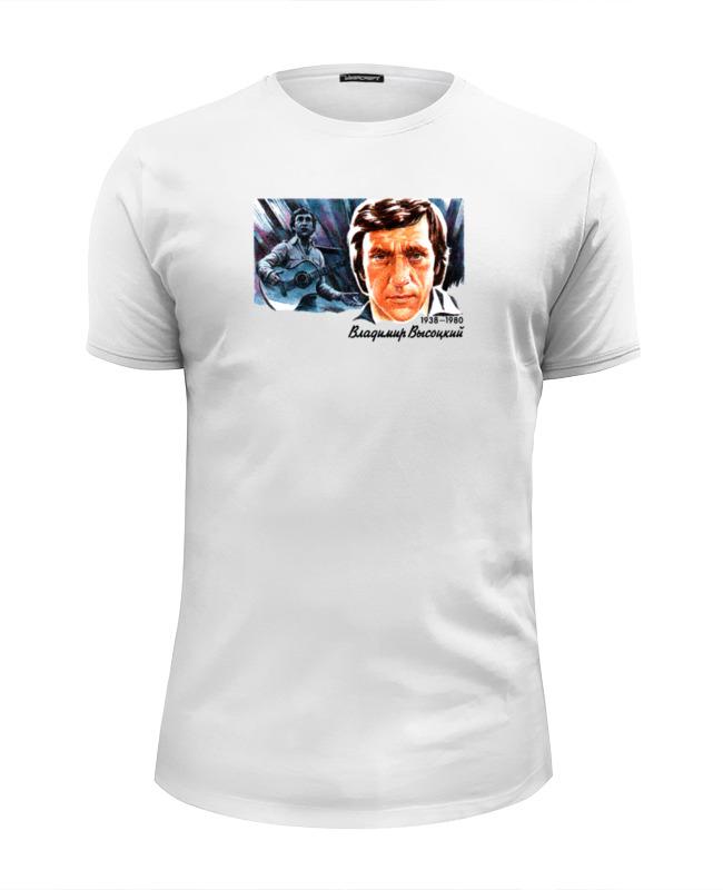 Футболка Wearcraft Premium Slim Fit Printio Владимир высоцкий футболка wearcraft premium slim fit printio высоцкий