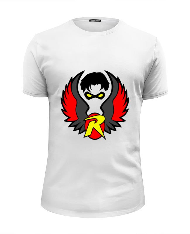 Футболка Wearcraft Premium Slim Fit Printio Робин (бэтмен) футболка wearcraft premium slim fit printio бэтмен и робин пощёчина