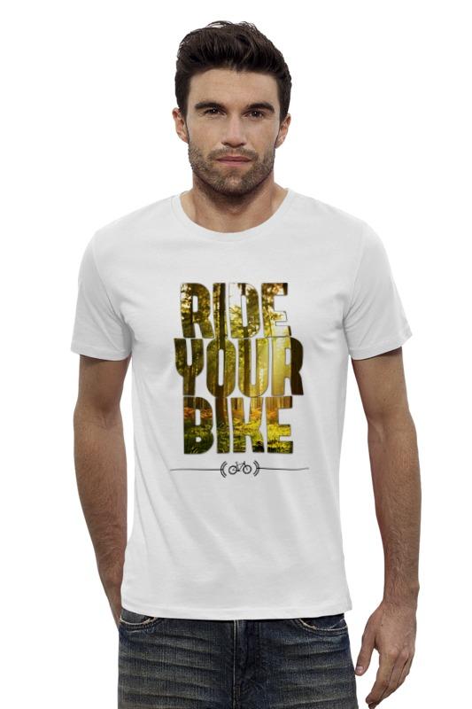 Футболка Wearcraft Premium Slim Fit Printio Ride your bike (лес) футболка wearcraft premium slim fit printio bike