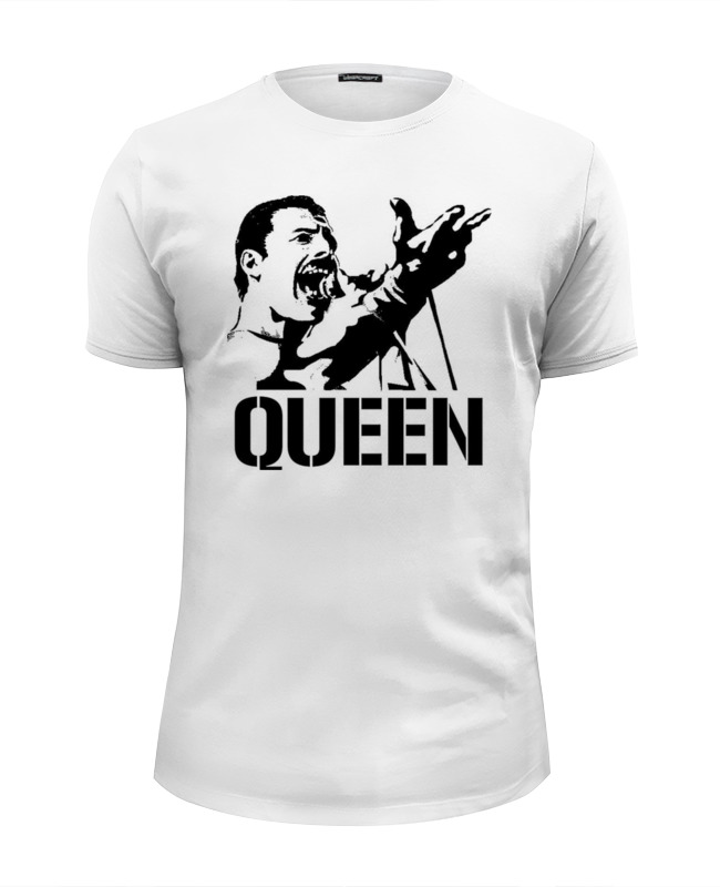 Printio Freddie mercury - queen футболка wearcraft premium slim fit printio open water queen