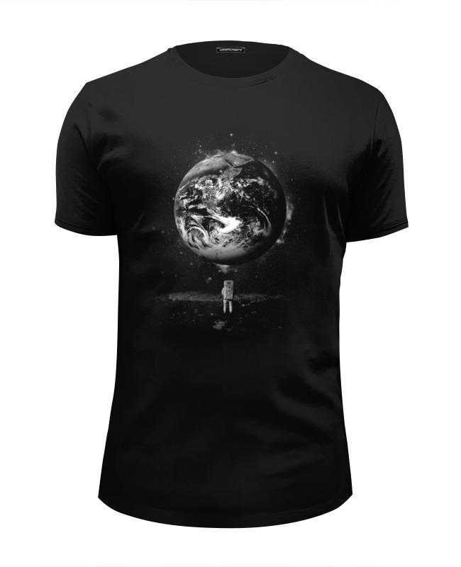 Футболка Wearcraft Premium Slim Fit Printio Человек на луне цена