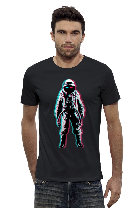 Футболка Wearcraft Premium Slim Fit Printio Космонавт 3d футболка wearcraft premium slim fit printio космонавт