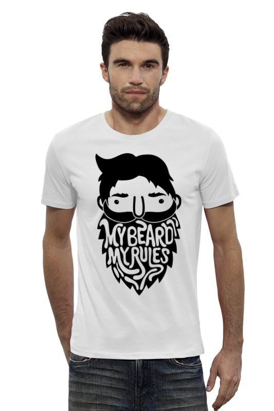 Футболка Wearcraft Premium Slim Fit Printio Моя борода, мои правила! футболка wearcraft premium slim fit printio моя печень ненавидит меня