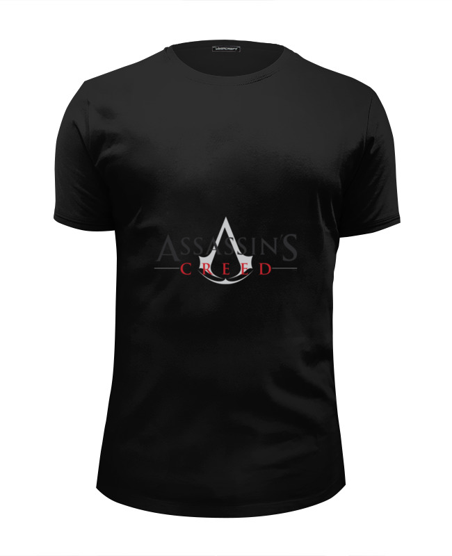 Футболка Wearcraft Premium Slim Fit Printio Assassins creed playstation