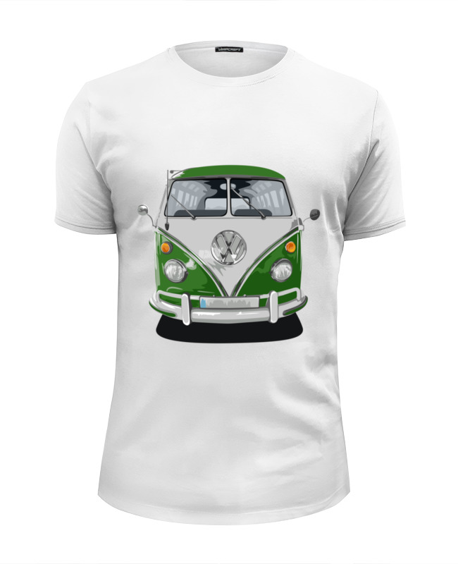Футболка Wearcraft Premium Slim Fit Printio Volkswagen