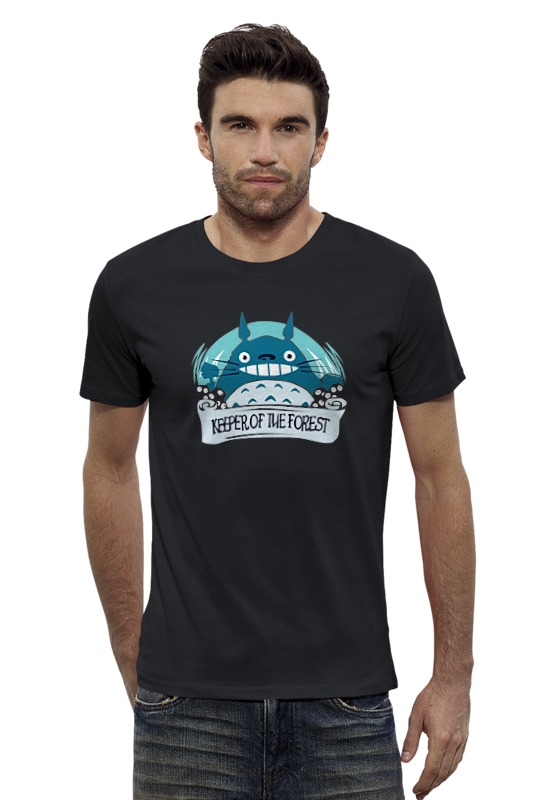 Футболка Wearcraft Premium Slim Fit Printio Tonari no totoro футболка wearcraft premium slim fit printio нет проблем no prob llama