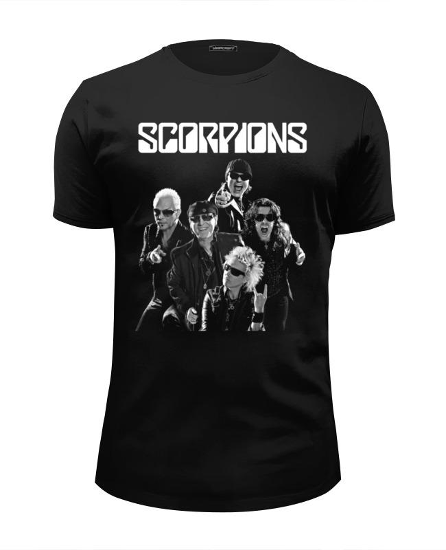 Фото - Printio Scorpions band футболка wearcraft premium slim fit printio hammerfall band