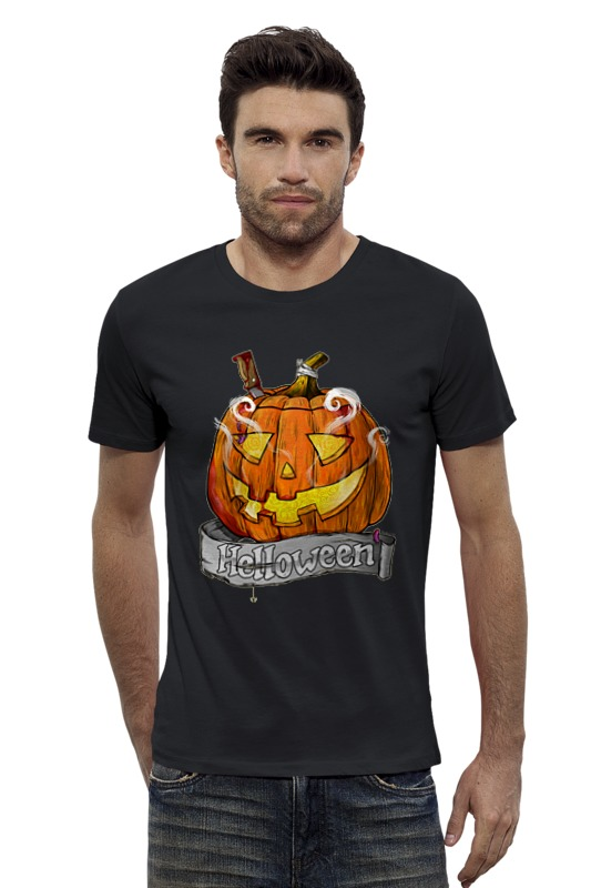 Футболка Wearcraft Premium Slim Fit Printio Хэллоуин футболка wearcraft premium slim fit printio шахматиста