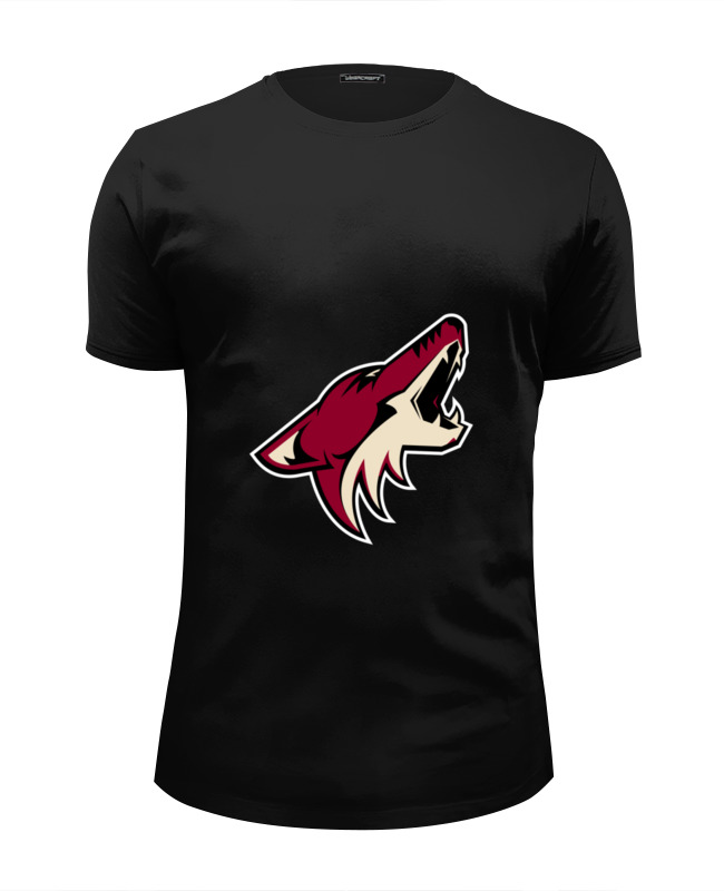 Футболка Wearcraft Premium Slim Fit Printio Arizona coyotes толстовка quelle arizona 416191