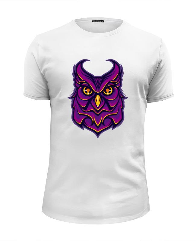 Футболка Wearcraft Premium Slim Fit Printio Ночная сова (owl) фара противотуманная 2190 гранта прав автосвет димитровград 37 3743010