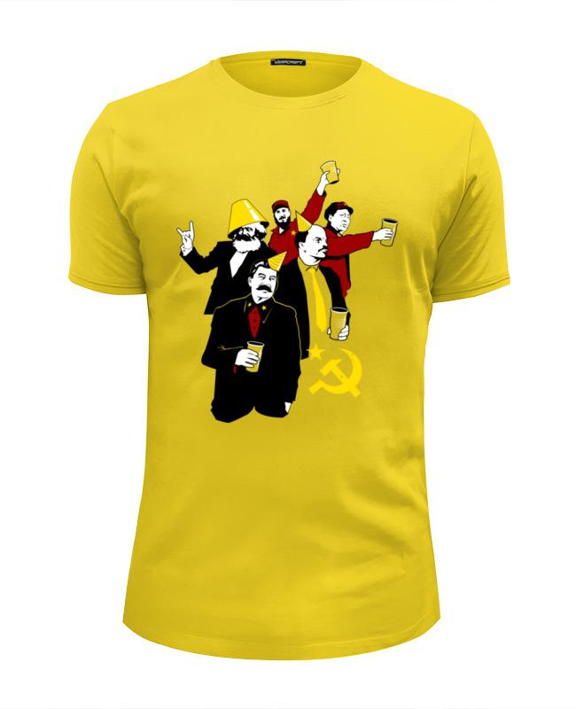 Футболка Wearcraft Premium Slim Fit Printio Коммунистическая вечеринка футболка это моя вечеринка