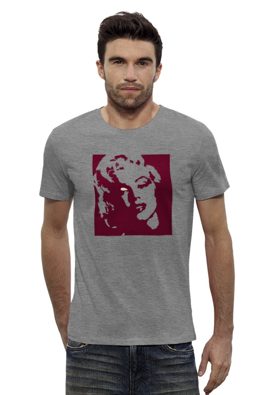 Футболка Wearcraft Premium Slim Fit Printio Мэрилин монро (marilyn monroe)