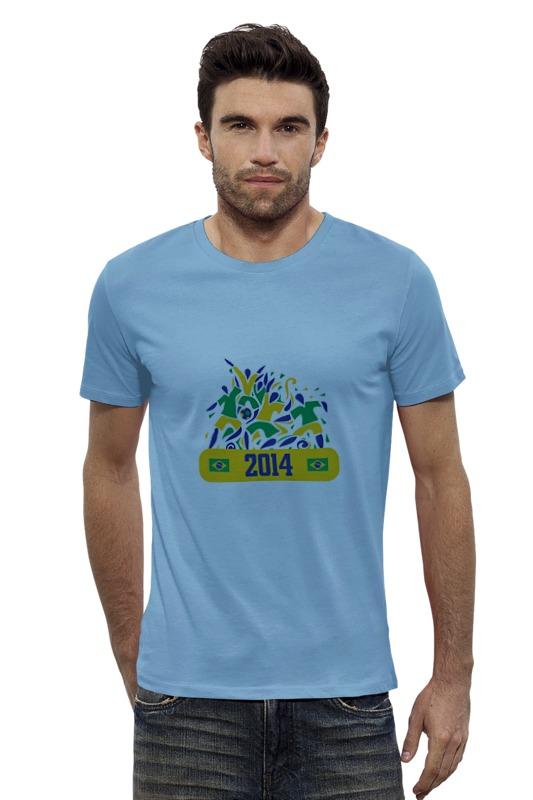 Футболка Wearcraft Premium Slim Fit Printio Fifa world cup 2014 brazil fifa 2014 как игрока
