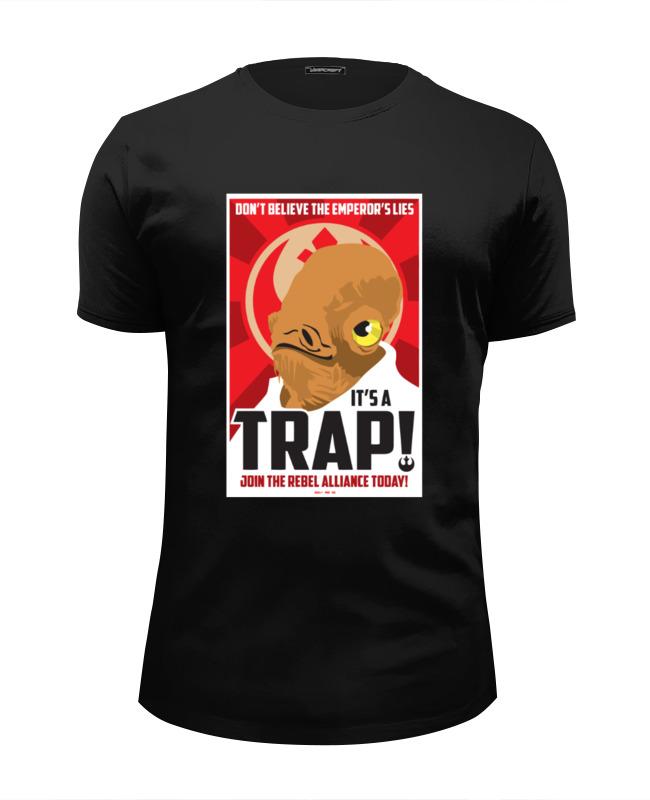 Футболка Wearcraft Premium Slim Fit Printio It's a trap! rat l trap high def trap 1 2 ounce lures