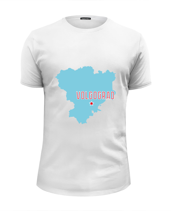 Футболка Wearcraft Premium Slim Fit Printio Волгоградская область. волгоград авиабилет волгоград стамбул цена