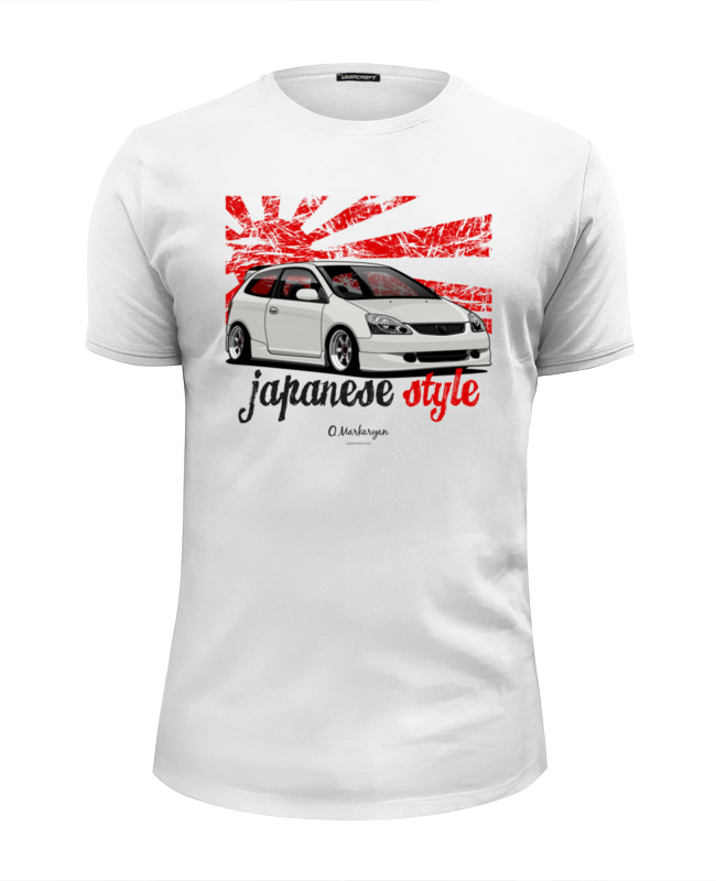 Printio Civic ep футболка wearcraft premium slim fit printio honda civic generation
