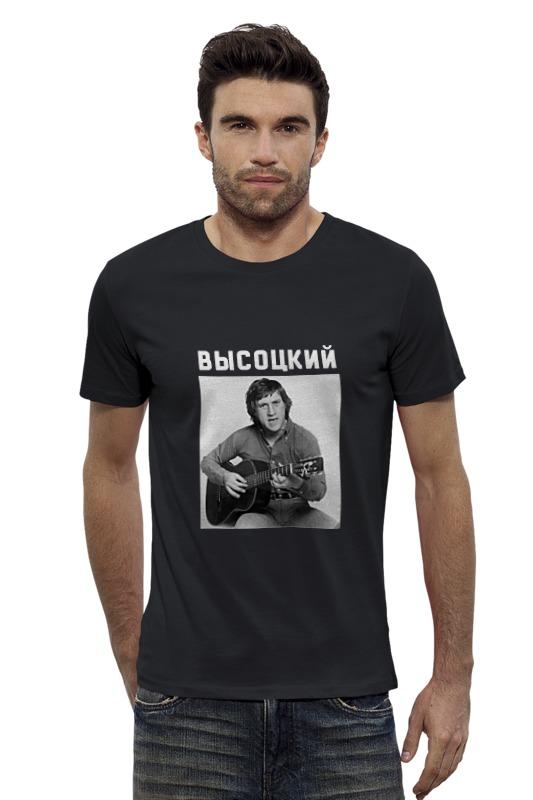Футболка Wearcraft Premium Slim Fit Printio Высоцкий в москве premium салонная косметика