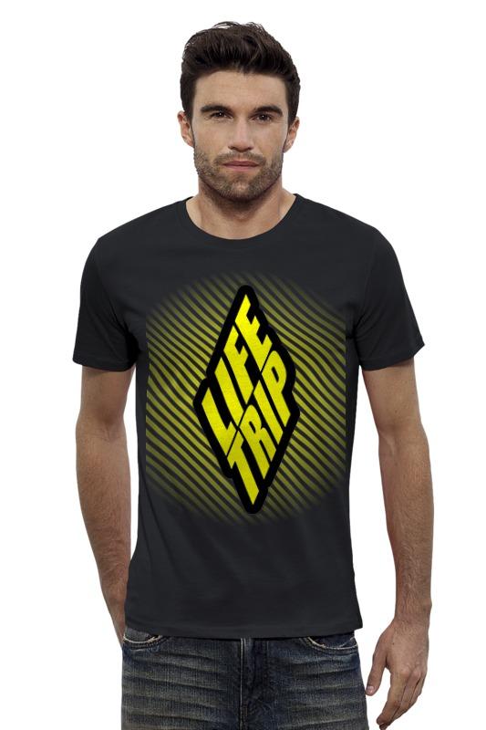 Футболка Wearcraft Premium Slim Fit Printio Life trip trip 9s футболка