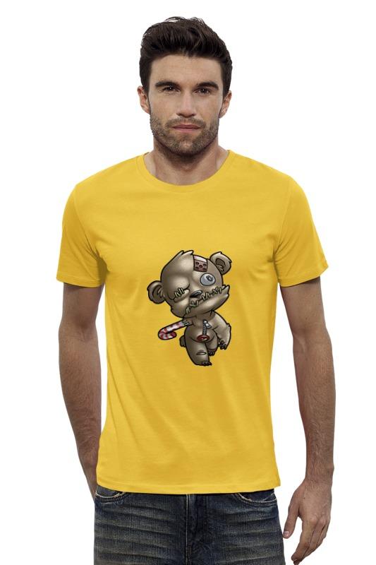 Футболка Wearcraft Premium Slim Fit Printio Мишка зомби футболка wearcraft premium slim fit printio мишка me to you