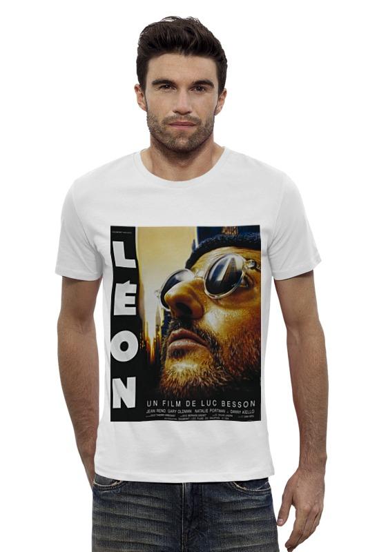 Футболка Wearcraft Premium Slim Fit Printio Леон люка бессона футболка wearcraft premium slim fit printio фильм леон leon