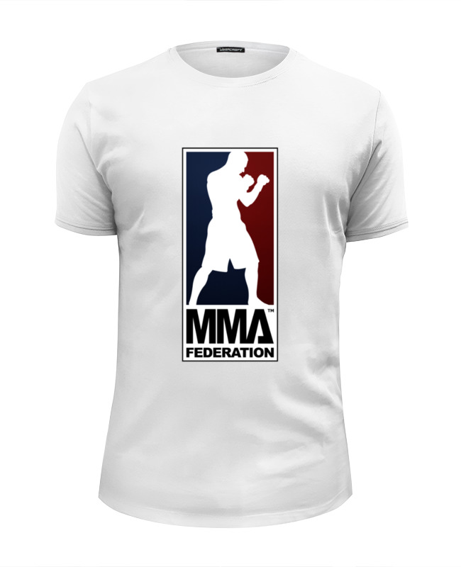 Футболка Wearcraft Premium Slim Fit Printio Mma - legion рубашка legion