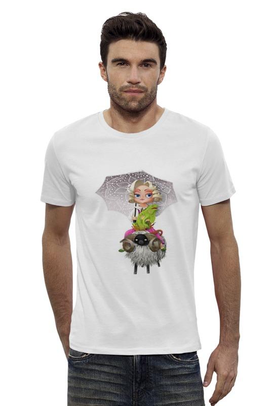 Футболка Wearcraft Premium Slim Fit Printio Девочка на баране футболка wearcraft premium slim fit printio верхом на облаке