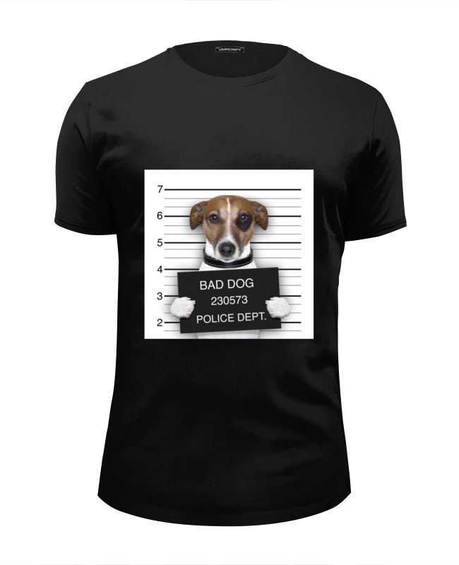 Футболка Wearcraft Premium Slim Fit Printio Bad dog (плохой пес) футболка wearcraft premium slim fit printio roar dog