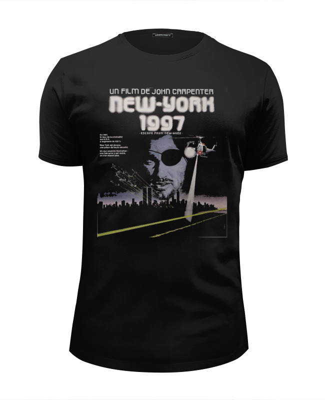 Printio Escape from new york / побег из нью йорка цена авиабилета до нью йорка