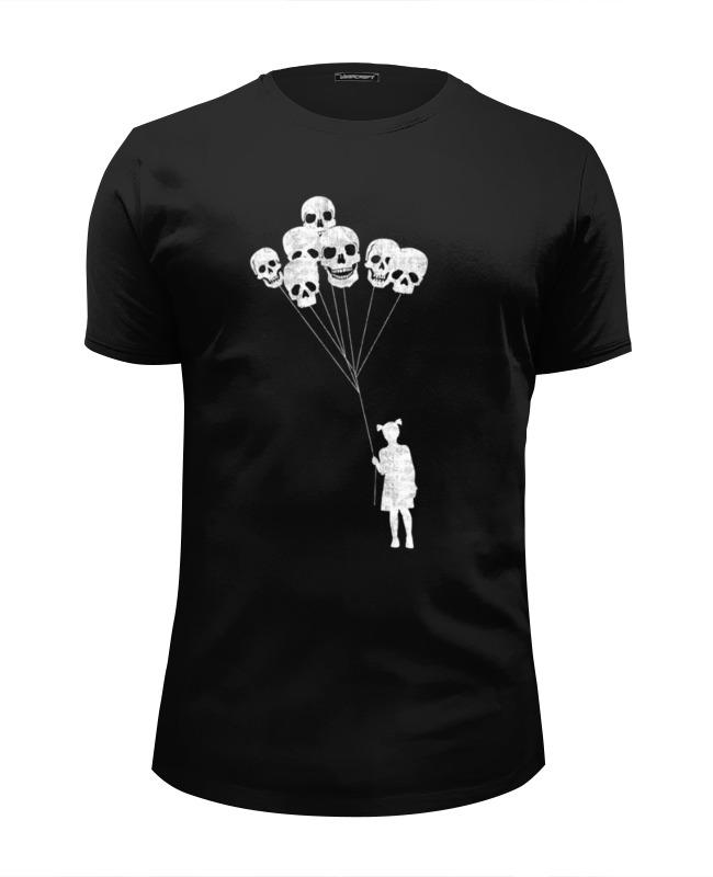 Футболка Wearcraft Premium Slim Fit Printio Skulls balloons футболка wearcraft premium slim fit printio i love skulls