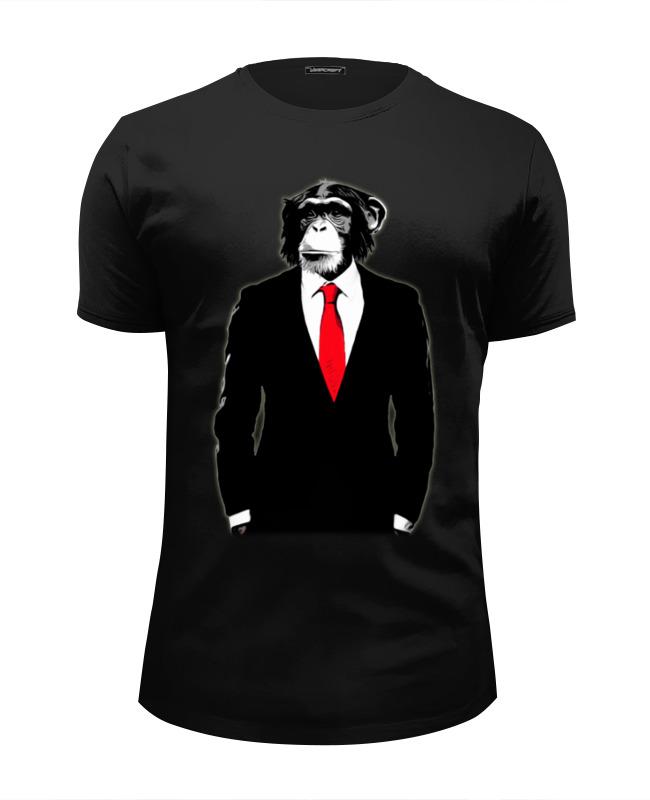 Футболка Wearcraft Premium Slim Fit Printio Мистер обезьяна футболка wearcraft premium slim fit printio футболка мистер бин