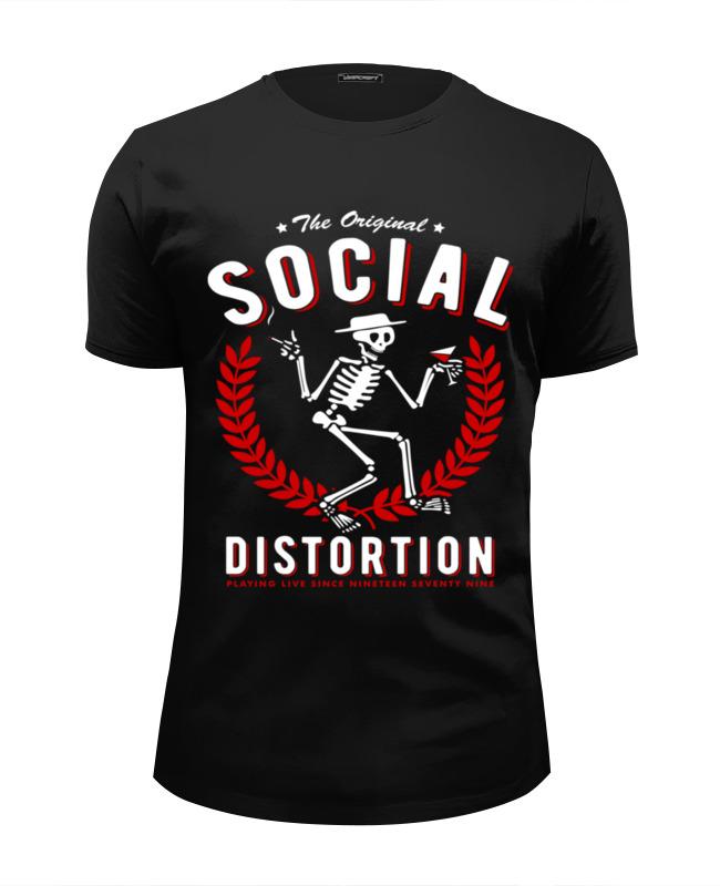 Футболка Wearcraft Premium Slim Fit Printio Social distortion social distortion social distortion independent years 4 lp