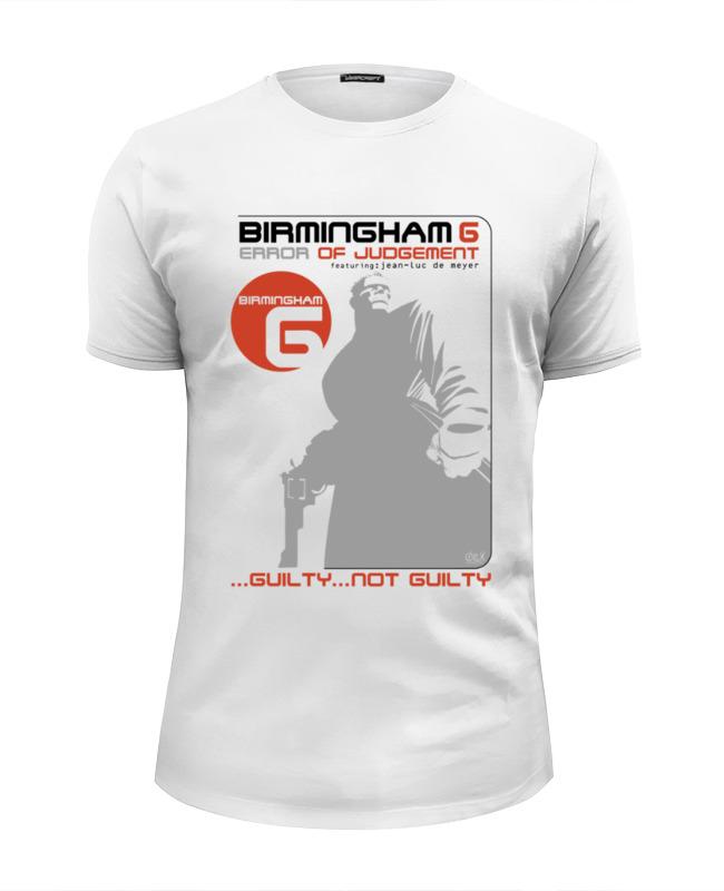 Футболка Wearcraft Premium Slim Fit Printio Birmingham 6 peace birmingham
