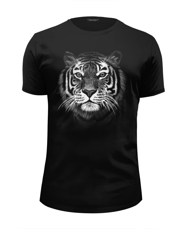 Футболка Wearcraft Premium Slim Fit Printio Белый тигр футболка wearcraft premium slim fit printio белый ходок