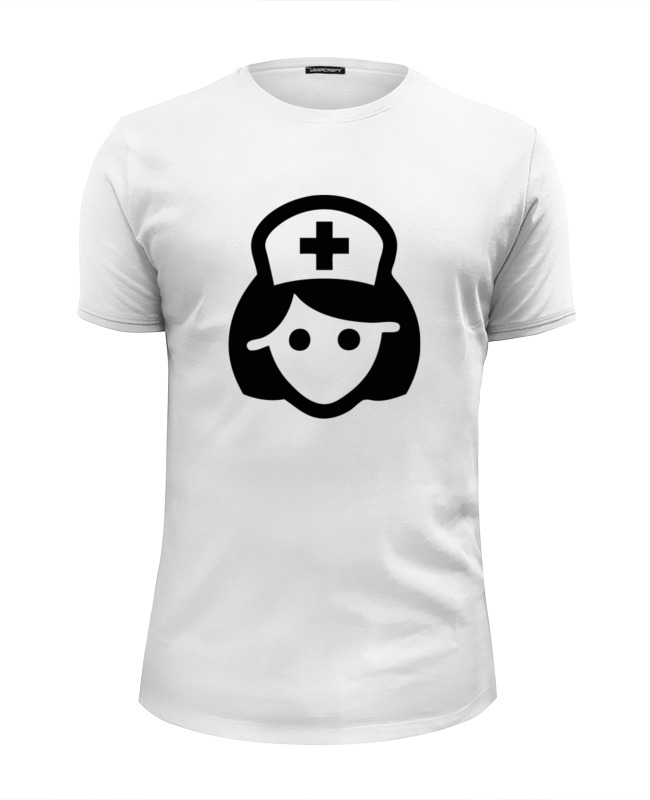 Футболка Wearcraft Premium Slim Fit Printio медсестра лонгслив printio медсестра