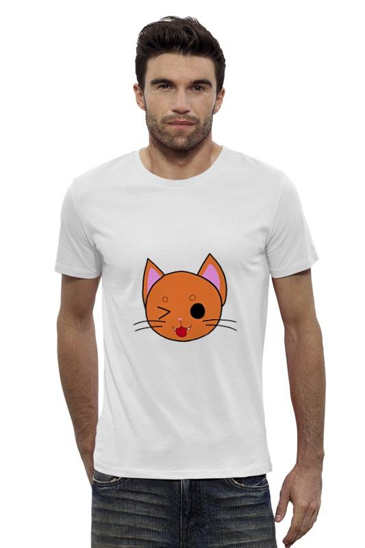 Футболка Wearcraft Premium Slim Fit Printio Котик футболка wearcraft premium slim fit printio vampire