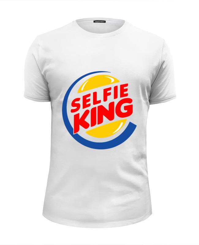 Футболка Wearcraft Premium Slim Fit Printio Король селфи футболка wearcraft premium slim fit printio король севера
