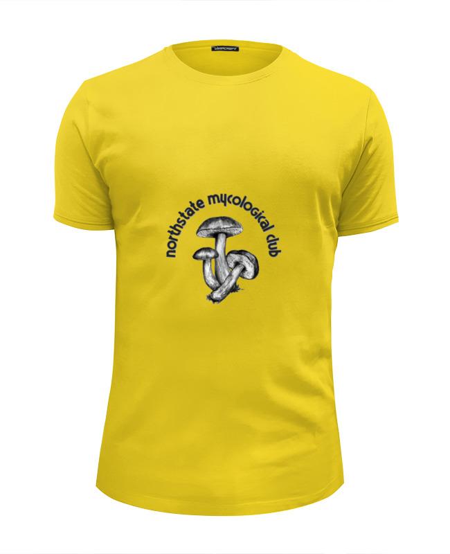 Футболка Wearcraft Premium Slim Fit Printio Клуб грибников футболка wearcraft premium printio винкс клуб