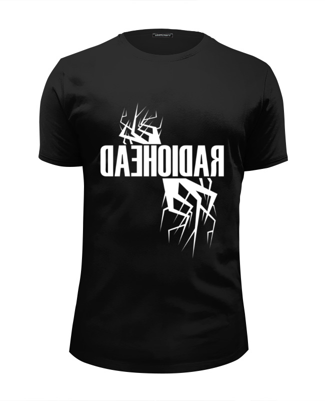 Футболка Wearcraft Premium Slim Fit Printio Radiohead футболка wearcraft premium slim fit printio radiohead album cover