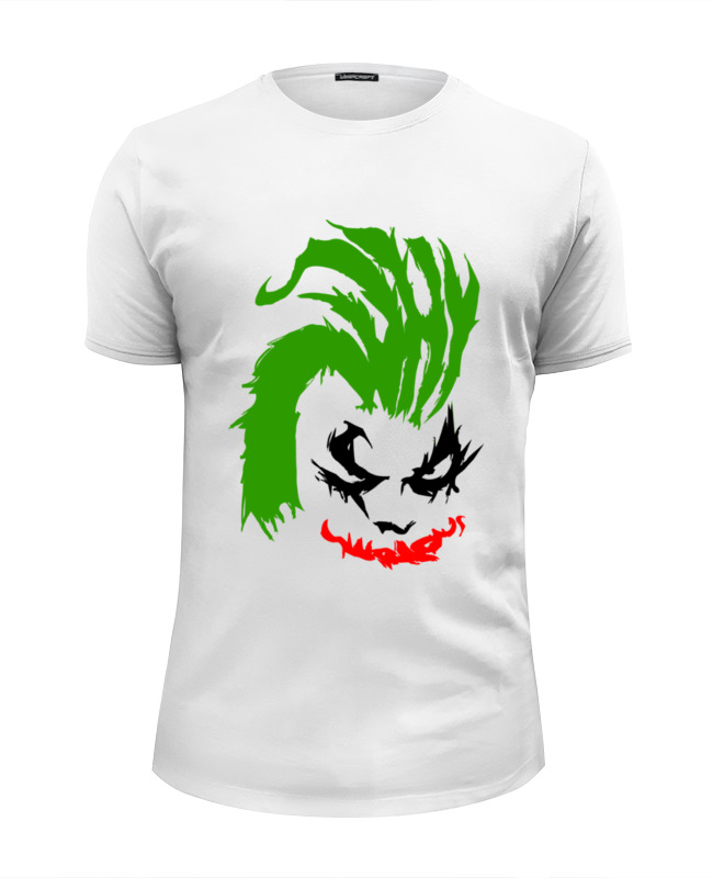 Футболка Wearcraft Premium Slim Fit Printio Why so serious? (joker) why should i bother to keep fit