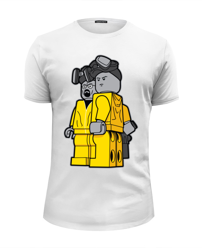 Футболка Wearcraft Premium Slim Fit Printio Breaking bad x lego цена