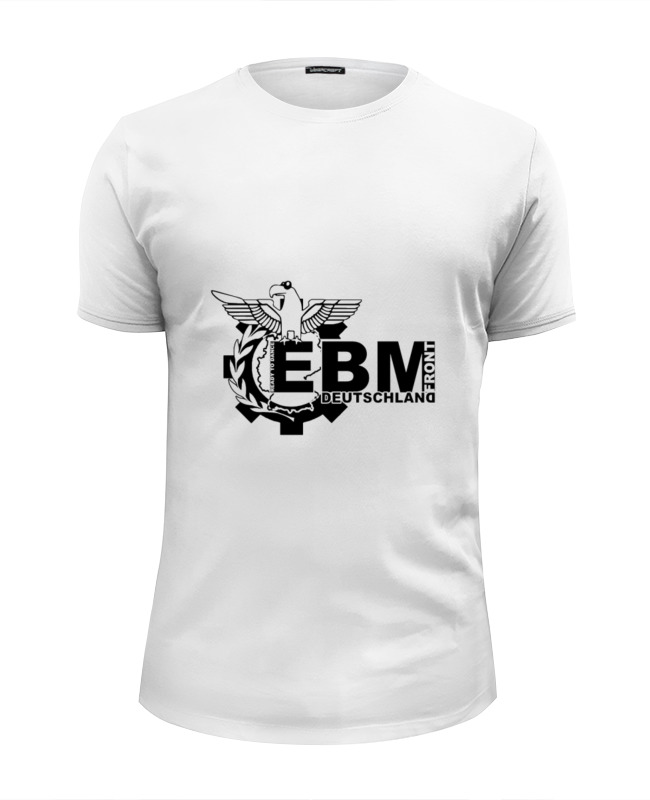 Фото - Футболка Wearcraft Premium Slim Fit Printio Ebm deutschland лого deutschland bundesrechtsanwaltsordnung – brao