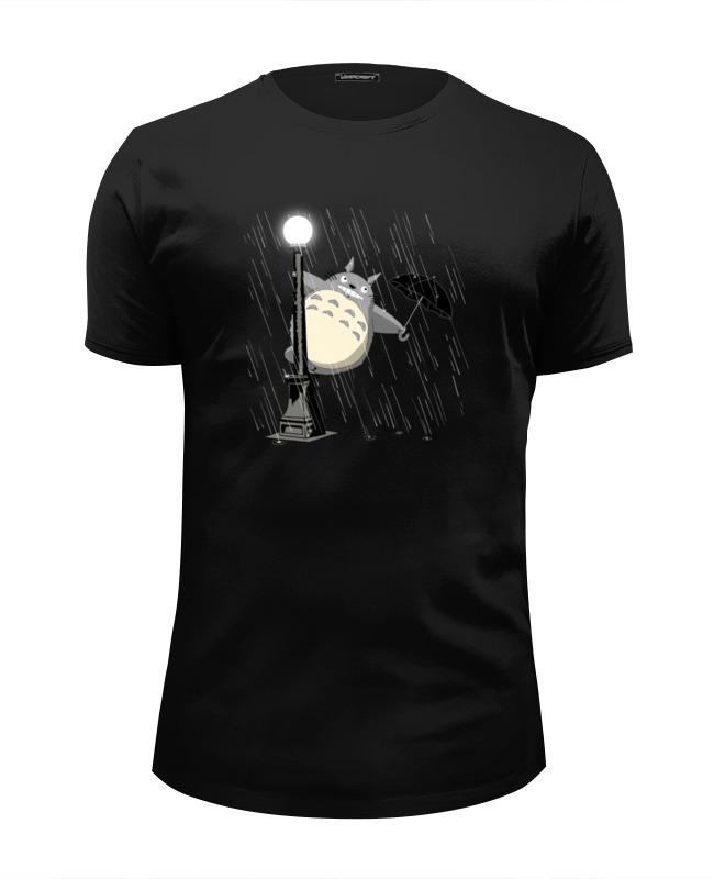 Футболка Wearcraft Premium Slim Fit Printio Мой сосед тоторо футболка wearcraft premium slim fit printio тоторо