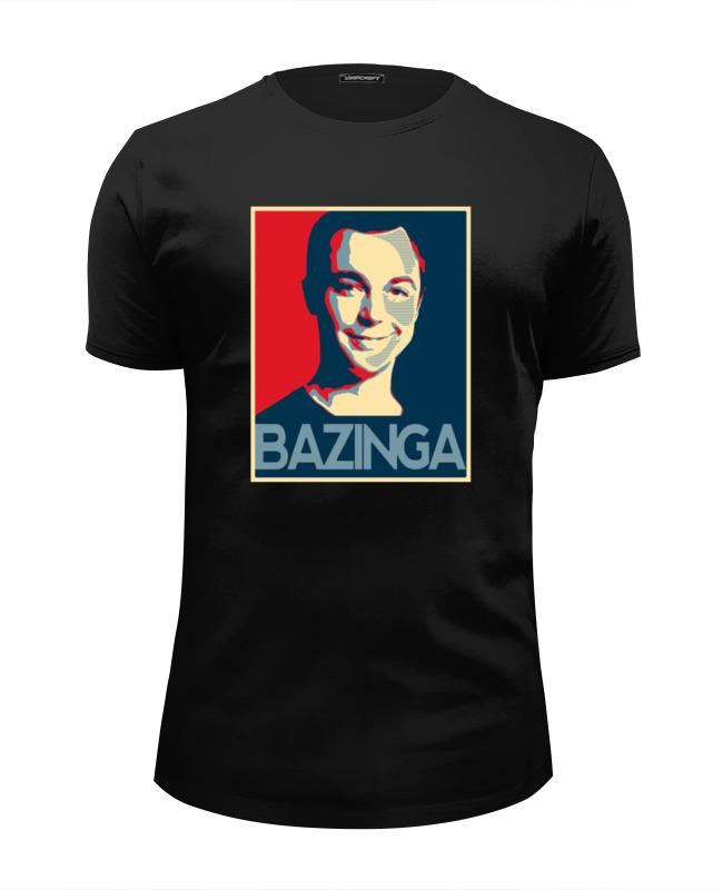 Футболка Wearcraft Premium Slim Fit Printio Bazinga