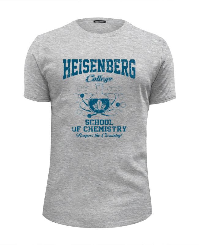 Футболка Wearcraft Premium Slim Fit Printio Heisenberg college