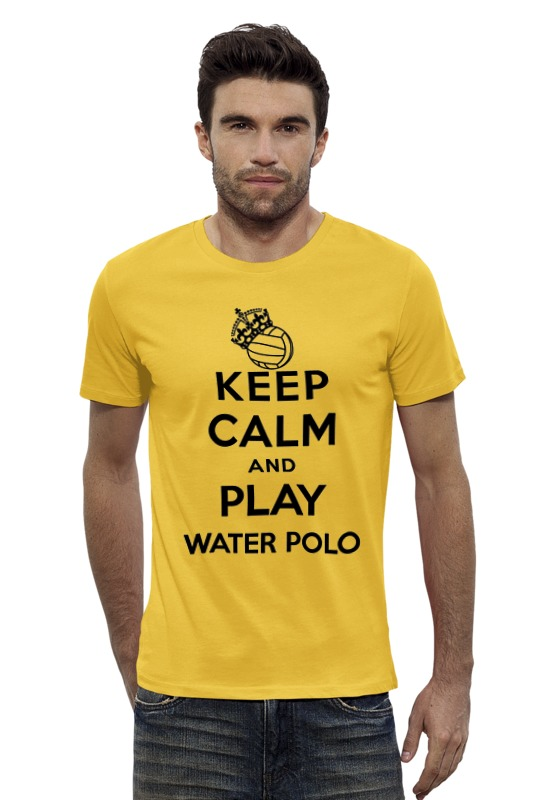 Футболка Wearcraft Premium Slim Fit Printio Keep calm футболка wearcraft premium printio keep calm and mid or feed