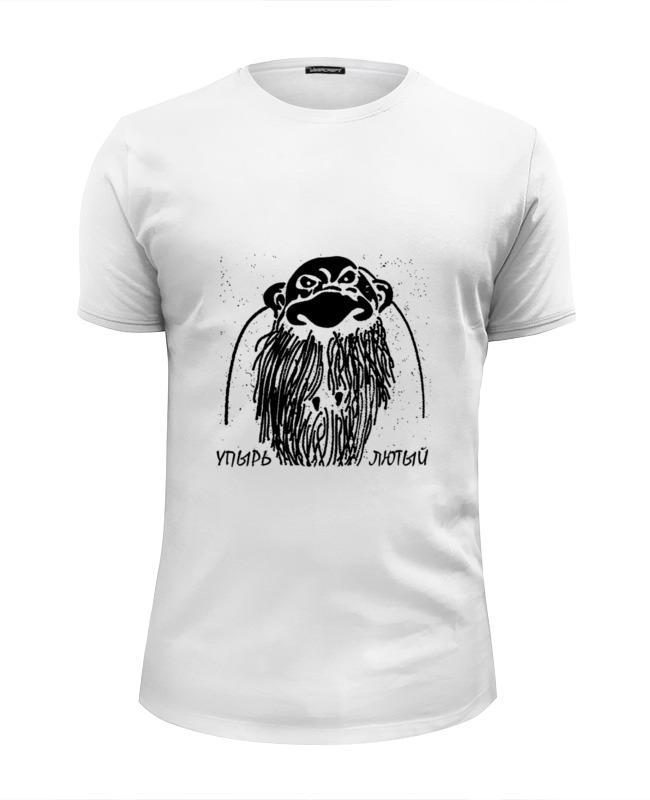 Футболка Wearcraft Premium Slim Fit Printio Упырь лютый lauren ralph lauren футболка