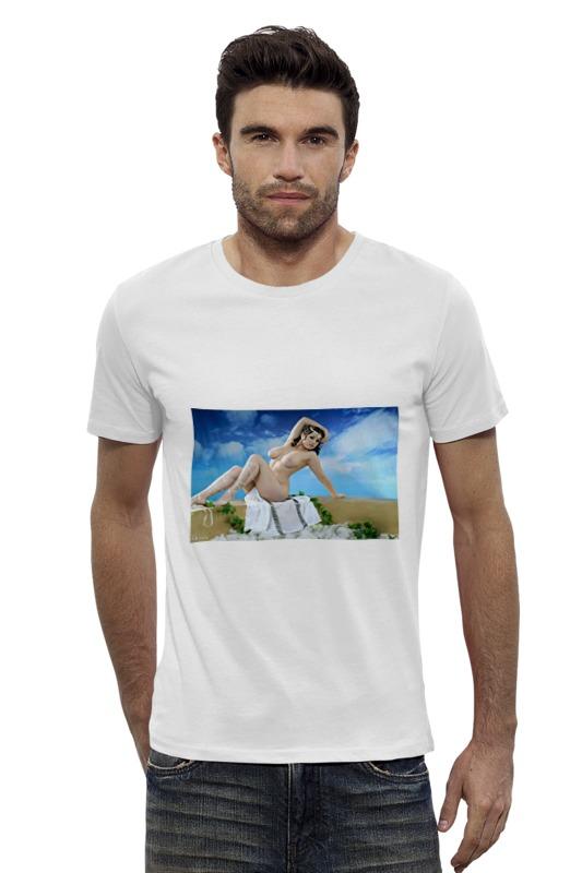 Футболка Wearcraft Premium Slim Fit Printio Античная красота футболка wearcraft premium printio красота смертельна