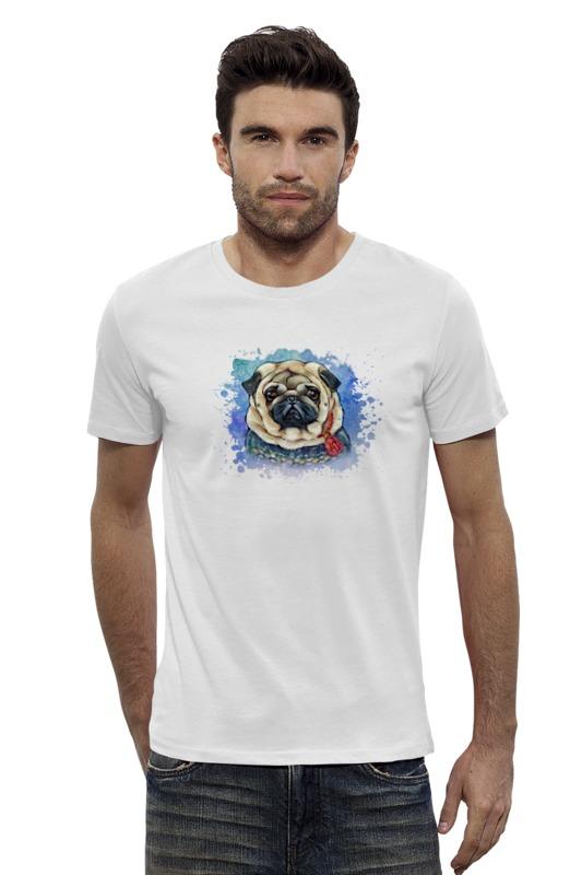 Футболка Wearcraft Premium Slim Fit Printio Мопсик футболка wearcraft premium slim fit printio avengers