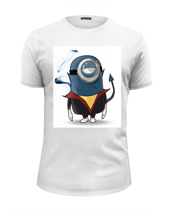 Футболка Wearcraft Premium Slim Fit Printio Миньон футболка wearcraft premium slim fit printio миньон кунг фьюри